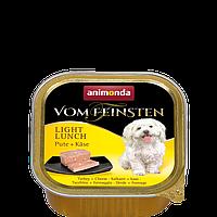 Консервы Animonda Vom Feinsten (Анимонда Вом Фенштейн) для собак «Легкий завтрак» с индейкой и сыром 150 г