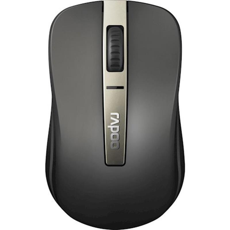Мышь беспроводная Rapoo 6610M Silent Grey USB