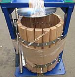 Пресс ручной для сока Вилен (20л с деревянной корзиной), фото 4