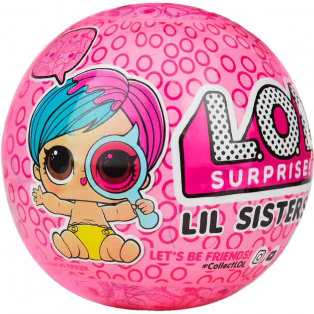 Игровой набор с мини-куклой L.O.L. S4 Секретные месседжи - Сестричка ОРИГИНАЛ (552147) (6900006486911)