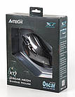 Мышь A4Tech X77 Oscar Neon Black USB, фото 4