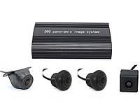 Автомобільна система відеоспостереження 360 градусів для управління 4 камерами