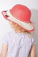 Детские шляпы La-Feny Шляпа детская Макади коралловая One size