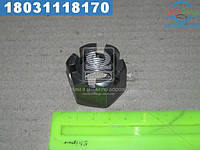 ⭐⭐⭐⭐⭐ Гайка М24х2 корончатая (шт.) DIN 935 (производство  Украина)  М24х2