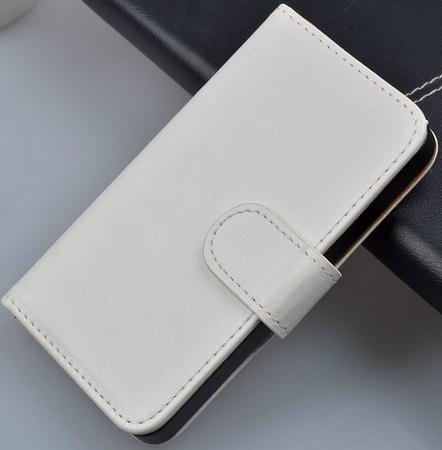 Чехол книжка для  Nokia Lumia 800 белый