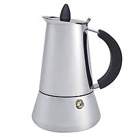 Кофеварка гейзерная Maestro MR-1668-4 нерж 200мл