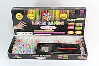 Набор для плетения браслетов из резинок Rainbow Loom Band LB018 600шт