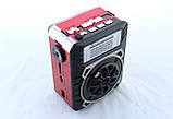 Радиоприемник Golon RX 9133 портативная колонка USB /SD / MP3/ FM / LED фонарик, фото 4