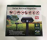 Ультразвуковой отпугиватель насекомых и грызунов для сада Solar Animal Repeller PX-1009 (на солнечной батарее), фото 1