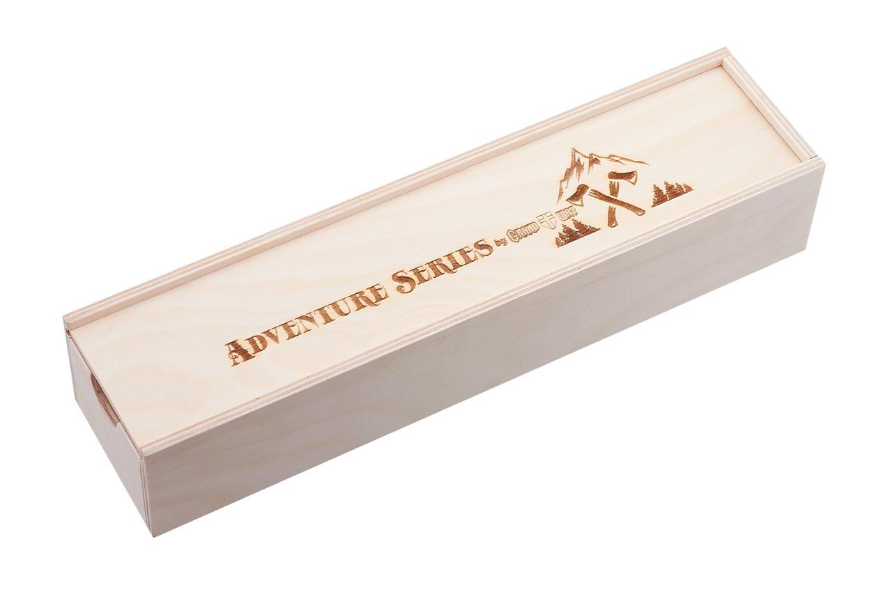 Коробка подарочная деревянная