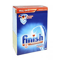 Таблетки для посудомоечной машины FINISH POWERBALL ALL IN 84 шт + антикальк 250 мл