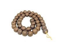 Заготовка из  матового агата,10мм коричневого цвета