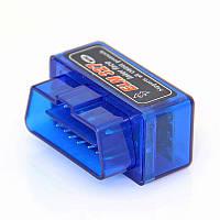 Діагностичний сканер-адаптер OBD2 ELM327 v2.1 Bluetooth mini, фото 1
