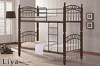 Кровать двухъярусная кованая Лия ДД (DD Liya)