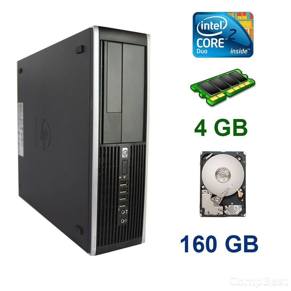 HP 6000 SFF / Intel Core 2 Duo E8400 (2 ядра по 3.00 GHz) / 4 GB DDR3 / 160 GB HDD