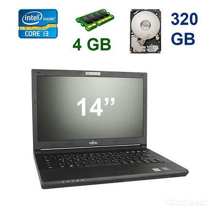 """Fujitsu Lifebook E544 / 14"""" / Intel Core i3-4000M (2(4) ядра по 2.40 GHz) / 4 GB DDR3 / 320 GB HDD, фото 2"""