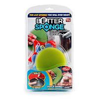 Набор универсальных силиконовых щеток-губок Better Sponge 3 шт (001400)