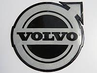 Антискользящий силиконовый коврик на торпедо с логотипом Volvo