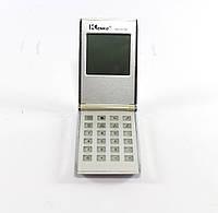Электронный калькулятор KK 2511 с календарем, часами и будильником (под замену акб), фото 1