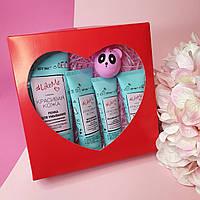 Подарочный набор уходовой белорусской косметики для лица Витэкс Heart Pro Make Up №10