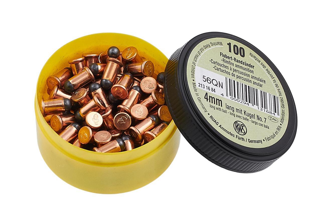 Патрон Флобера RWS Flobert Cartridges | 4 мм | Lang (Long)