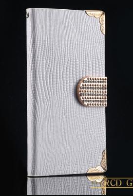 Роскошный чехол-книжка для Samsung Galaxy S4 i9500 белый