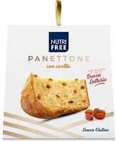 Nutri Free. Кекс Панеттоне с изюмом без глютена и лактозы  600 г  (8008696028478)