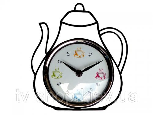 Часы настенные Чайник (металл)