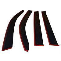 COBRA TUNING Дефлекторы окон на ВАЗ 2101, 2103, 2105, 2106, 2107 седан (широкие, накладные)