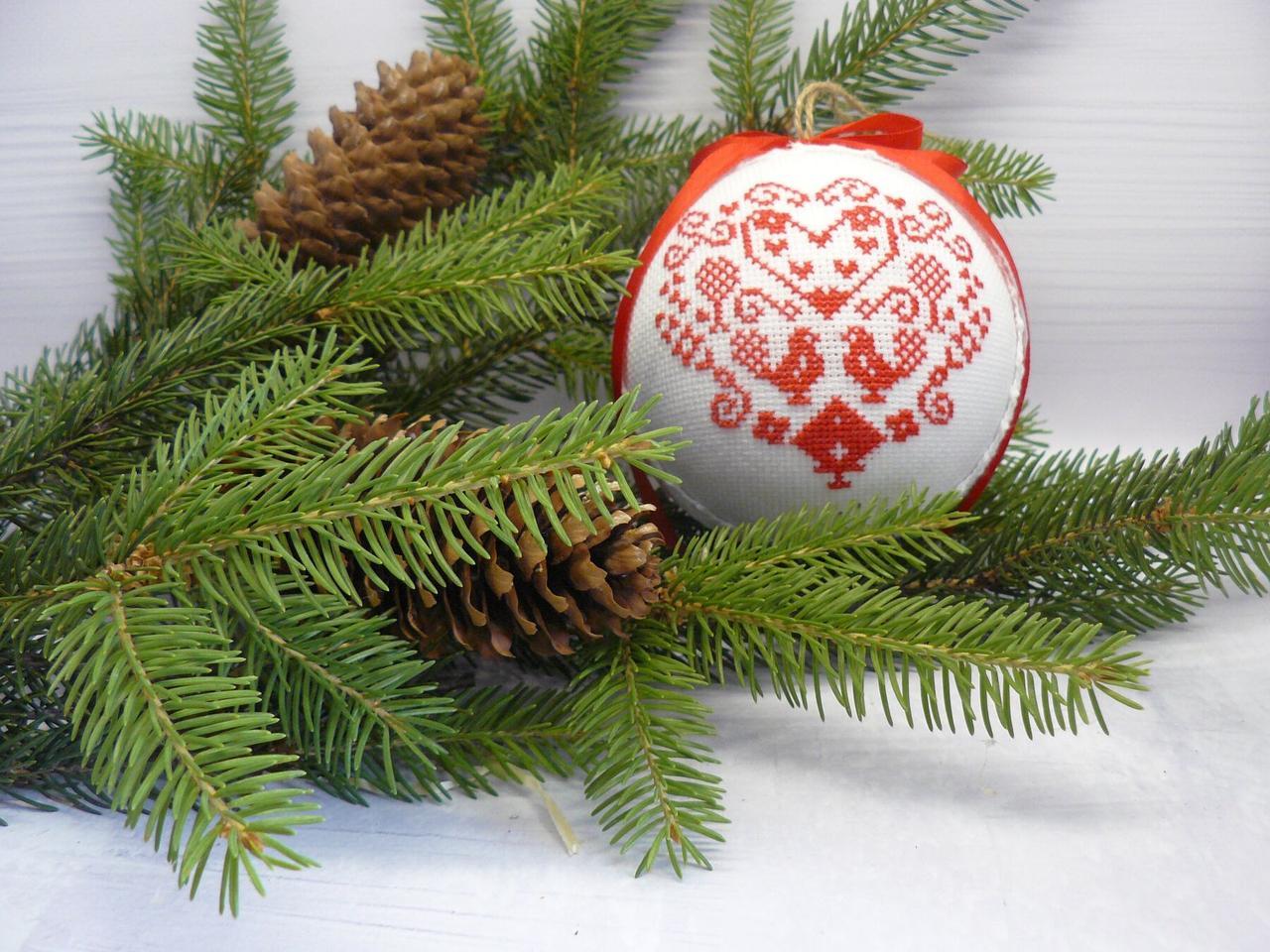 SN-5 Набор для творчества. Новогодняя игрушка-шар на елку