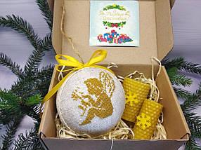 SN-22 Набор для творчества. Новогодняя игрушка-шар на елку, фото 3