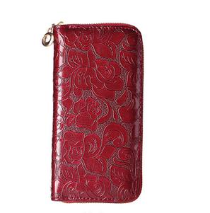 Женский  кошелек  клатч красный, фото 2
