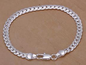 Серебрянный браслет Совершенство 925 проба (покрытие)