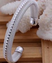 """Серебрянный браслет """"Luisa"""" 925 проба (покрытие)"""