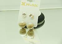 Ювелирные украшения, удлиненные серьги от RRR, пусеты под Диор (прозрачные). 200