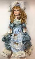 Сувенирная кукла, фарфоровая, коллекционная Анна 45 см