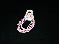 Детский набор браслетиков, розовый