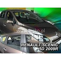 Team Heko Дефлекторы окон на Renault Scenic II '09-16 универсал (вставные)