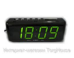 Часы сетевые 762 С-2 (зеленые)