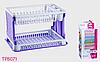 Сушка для посуды Lace Tuffex TP-8071-1 фиолетовый