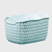 Корзина для хранения Knit Tuffex 17 л TP-4204-3 мятный #PO