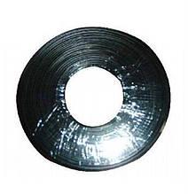 Кабель телефонный Cablexpert TC1000S-100M-B 100 м. 2 пары, плоский, литой, черный цвет