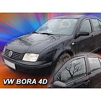 Team Heko Дефлекторы окон на Volkswagen Jetta/Bora IV '98-05 седан (вставные)