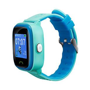 """Детские смарт-часы Canyon CNE-KW51 Blue; 1.22"""" (240х240) сенсорный / GPS, LBS / 46 х 40 х 16 мм, 35 г / IP68 / 420 мАч / синий"""