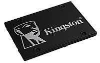 """Накопитель SSD 256GB Kingston KC600 2.5"""" SATAIII 3D TLC (SKC600B/256G) Bundle Box"""