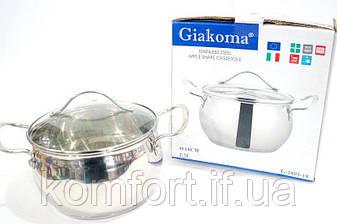 Кастрюля Giakoma G-2803-18 18см 2,7 л, фото 2