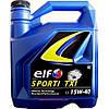 Моторное минеральное масло ELF(эльф) 15w40 Sporti TXI 4л.