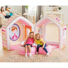 Надувной игровой центр Домик принцессы Intex 48635, фото 2