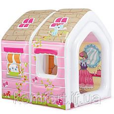 Надувной игровой центр Домик принцессы Intex 48635, фото 3