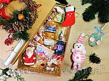 """Большой детский новогодний подарочный набор """"Happy New Year Joy"""" с поздравительной телеграммой"""